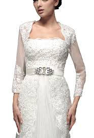 wedding dress jacket albizia ivory lace half sleeves tulle wedding dresses jacket at