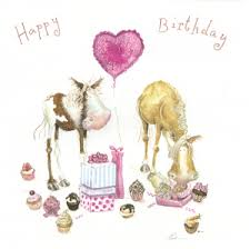 pony cupcakes birthday card stickybud cards pony and