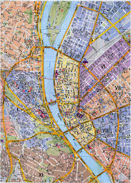 Chicago Attraction Map by Tourist Map Of Budapest Buda Left Danube Middle Pest Right