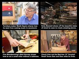 Woodworking Shows On Tv by The Highland Woodworker Web Tv July 2016 Episode