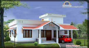 Home Design Plans Sri Lanka Front Elevation Of Single Floor House Kerala 2017 Also Home