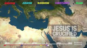Religion World Map by Animated Map Shows How Religion Spread Around The World Youtube