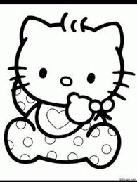 kitty coloring pages sweet kiddo