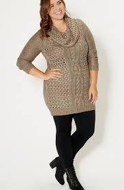 knit dress plus size pluslook eu collection