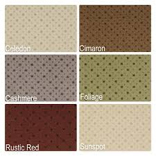 Thick Pile Rug Key Pointe Indoor Pin Dot Pattern Area Rug Collection