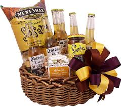 mexican gift basket of corona gift basket