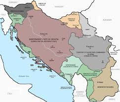 World War Ii Maps by Axis Occupation And Partition Of Yugoslavia In World War Ii