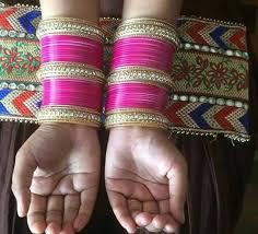 wedding chura online 42 best rani pink wedding chura images on make it