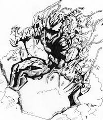 venom carnage coloring pages