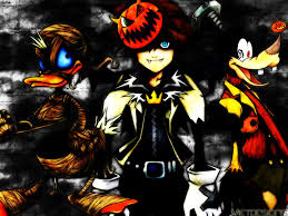free halloween background 1024x768 kingdom hearts wallpaper and background 1024x768 id 140