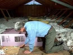 insulating attic pull down stairs youtube insulating pull down