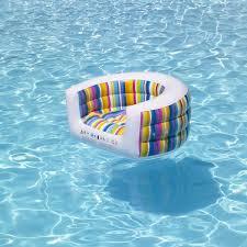 siege de piscine gonflable fauteuil piscine tutti frutti la boutique desjoyaux