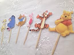 winnie the pooh cupcake toppers tigger eeyore roo rabbit piglet