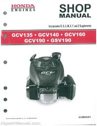 honda small engine manuals repair manuals online
