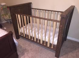 Solid Wood Convertible Crib Fantastic Baseball Bat Crib Made Solid Wood Crib Made With