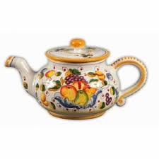 teapots archives italian pottery outlet