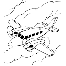 coloriages avion az coloriage