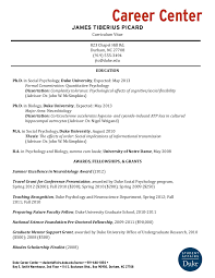 Sample Format Of A Resume by Example Cv