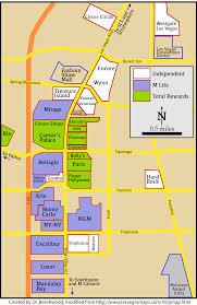 Las Vegas Strip Map Las Vegas Strip Map Wall Hd 2018