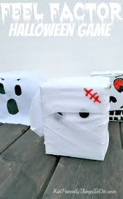 halloween fear factor game for kids u0026 craft idea fear factor