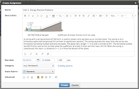 Assignment Form Course Materials Assignments U2013 Schoology Support