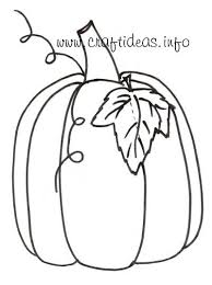 free craft patterns and templates for fall autumn pumpkin