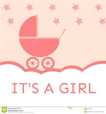 it u0027s a baby shower invitation stock vector image 63153468