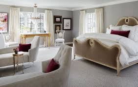 ten tips an elegant bedroom oasis home tour lonny complete with its own crystal chandelier and custom chaise lounge chairs designer kim scodro created