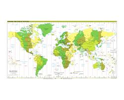 United States Map Time Zones by File Standard Time Zones Of The World 2012 2 Svg Wikimedia
