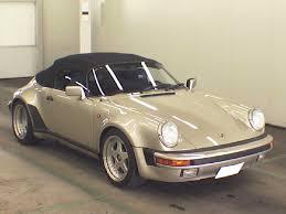 1989 porsche speedster for sale rare porsche 911 speedster at auction in japan japanese car