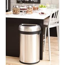 poubelle cuisine 60l open bin demi lune poubelle ouverte 60l simplehuman
