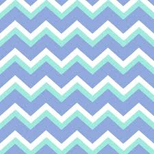 Chevron Pattern In Blue | blue green chevron pattern mixed media by christina rollo