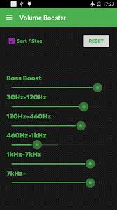 sound booster for android volume booster android app