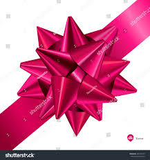 pink gift bows ribbons detailed realistic stock vector 465705743