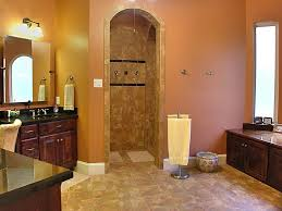 compact and accessible bathroom ideas with walk in showers with no walk in showers no doors with tile for wall and tile for bathroom flooring plus wooden