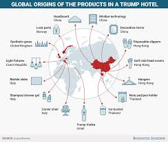 Map Of Hotels In Washington Dc by Trump U0027s U0027buy American U0027 Policy Conflicts With How His Businesses