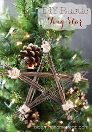 handmade ornament diy rustic twig homesteads and