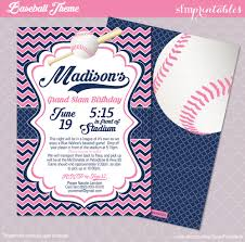 softball birthday invitations birthday card invitations