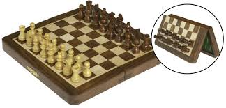 travel chess set images Wooden folding magnetic travel chess set 5 x 10 quot jpg