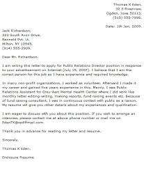 public relations cover letter examples cover letter now