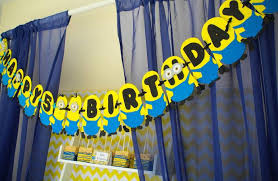 minions birthday party ideas kara s party ideas despicable me minion themed birthday party