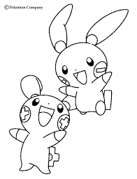 pokemon coloring pages togepi pokemon to print 363293