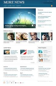 web design news excellent media website templates entheos