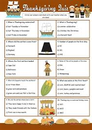 thanksgiving quiz worksheet free esl printable worksheets made by