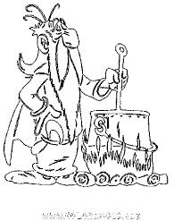 coloriage le magicien et ses potions magiques gratuit héros