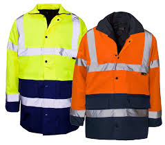 mens hi vis waterproof cycling jacket mens hi vis visibility two 2 tone parka jacket waterproof coat hi