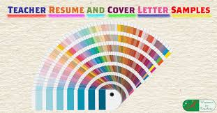 career letter sample 15 a teacher resume samples with matching cover letters