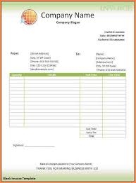 blank invoice samples blank invoice template free pdf best