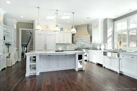 White Cabinets Dark Grey Countertops Kitchens With White Cabinets U2013 Subscribed Me