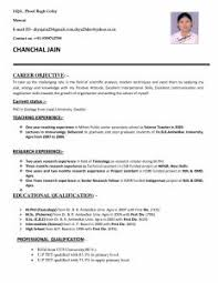 Sample Resume For Chef Job by Examples Of Resumes 79 Remarkable Free Sample Resume Samples